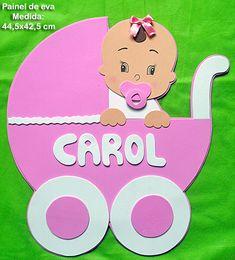 Pinkie Blue Artigos para festa: Painel para chá de Fralda -Chá de bebê