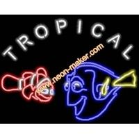 Tropical Fish Store  Neon Sign
