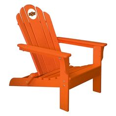 Oklahoma State University Adirondack Chair-Orange