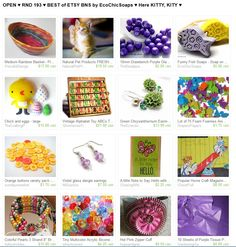 OPEN ♥ RND 193 ♥ BEST of ETSY BNS by EcoChicSoaps ♥ Here KITTY, KITY ♥  Please join us at  http://www.etsy.com/treasury/MTI4MzMwMjh8MjYwMDYxMzg3MQ/open-rnd-193-best-of-etsy-bns-by