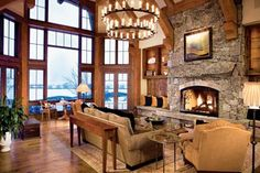 Transitional Brown Living Room | Living Rooms | LUXE Source