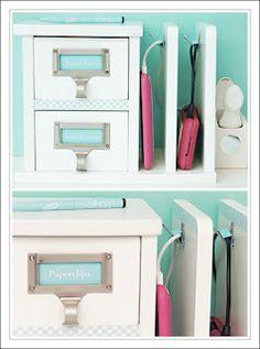 Decor Inspirations: DIY: Charging Rack