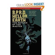 B.P.R.D. Hell on Earth Volume 6: The Return of the Master: Mike Mignola, John Arcudi, Scott Allie, Tyler Crook, Ryan Sook: 9781616551933: Amazon.com: Books