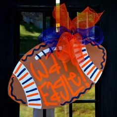 Hey, I found this really awesome Etsy listing at http://www.etsy.com/listing/102605016/door-hanger-auburn-football-wooden