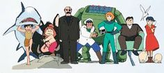 Buy Graduation by BlueRingMedia on GraphicRiver. Graduated people in gown celebrating Future Boy, Book Illustration, Illustrations, Studio Ghibli, Conan, Graduation, Family Guy, Cartoon, Comics