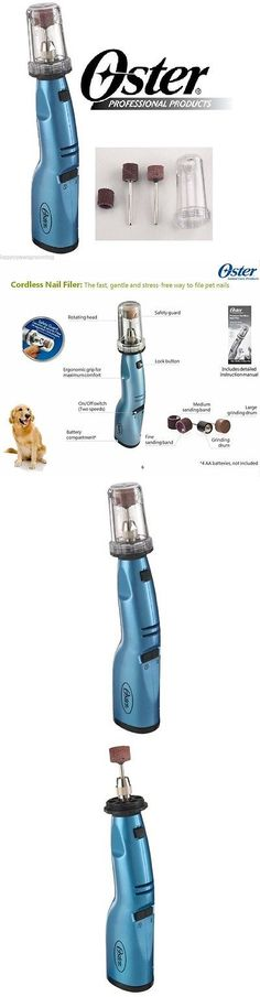Claw Care 177793: New Oster Gentle Paws Premium Nail Grinder Cordless For Dogs, Puppies, Cats BUY IT NOW ONLY: $35.49