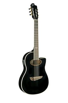 EKO Guitars 06217039 NXT Series Acoustic-Electric Classical Guitar, Black -- Be sure to check out this awesome product.