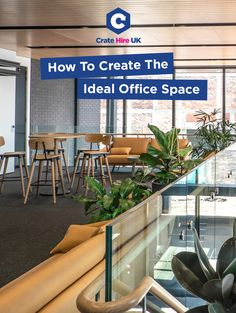 How To Create The Ideal Office Space Where Employees Thrive Carbon Offset, Breakout Area, Small Office, Carbon Footprint, Office Interiors, Offices, Workplace, Crates, Inspirational