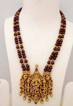 0926cec78018a 14 Best Rudraksha Heavy Jewellery by menjewell.com images in 2018 ...