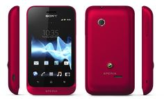 Sony Xperia Tipo Red - Κινητά τηλέφωνα - plaisio.gr