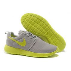 buy online bae14 6a1d8 Women Nike Roshe One Shoes Light Gray Fluorescein Buy Nike Shoes, Cheap Nike  Running Shoes