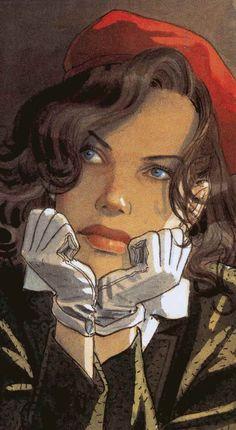 Otro dibujante que me encanta es Jean-Pierre Gibrat que con su estilo y colores me hace, literalmente, morir de amor. *___*