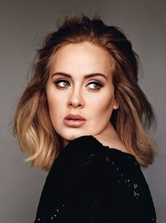 Adele Cries to Her Music, Too - The New York Times- Adele Mid lenght hair.