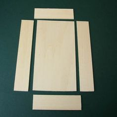 Use simple hand tools to build a basic dolls house scale cupboard or armoire with opening doors.: Determine the Measurements and Cut the…