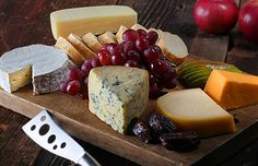 Classic cheese platter  Cheese platters make great go-to dishes for home entertaining. Spending a little extra time at a cheese shop can help you create a board that rises above the average lump of cheddar.  When putting together a cheese platter, there are no rules, but there are a few guidelines that can help make the presentation both tasty and interesting.      If you're having just a wine and cheese af
