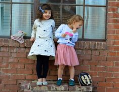Toddler girl style sister style toddlers