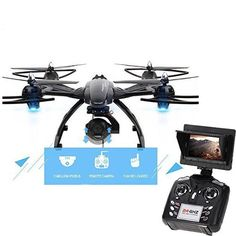 Camera Quadcopter Fpv Drone Helicopter 2MP HD Live Camera & LCD Screen Monitor  #KY