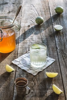 Gin and Tonic with Homemade Quinine Syrup | HonestlyYUM