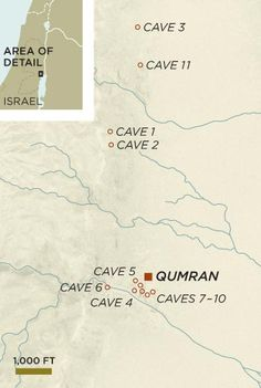 Golb described Monday how in recent investigation at Qumran, Peleg, with Y. Magen, felt they demonstrated R. Dead Sea Scrolls, Christianity, Novels, Map, Writing, History, Books, Third, Magazine