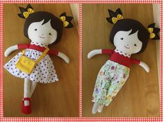 Boneca Mila! Muitos acessórios! na http://www.elo7.com.br/boneca-de-pano-mila/dp/67CA91 ou pelo e-mail nuvempano@gmail.com