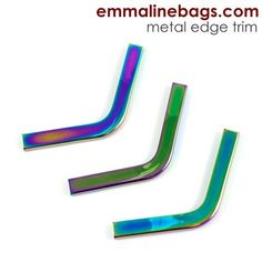for bags /& crafts in a range of finishes Zipper ends by Emmaline bags