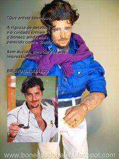 """Bruno Gagliasso (""""Berillo"""" novela """"Passione"""")"""