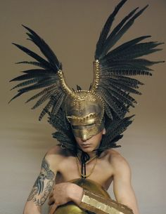 Headpiece: AlienFox Designs  Model: Luke Godfrey