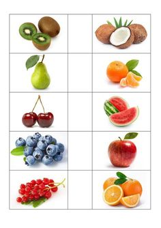 Picture cards fruit – language - My CMS Fruit And Veg, Fruits And Veggies, Vegetables, Berry Smoothie Recipe, Smoothie Recipes, Kale Recipes, Healthy Recipes, Image Fruit, Picture Cards