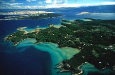 rab island - lopar beach