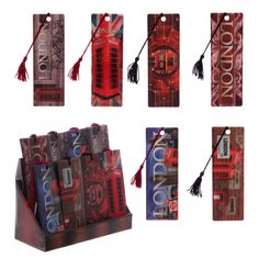 Ted Smith London 3D Bookmarks #bookmark #LondonIcons #London #accessories #souvenirs #giftware