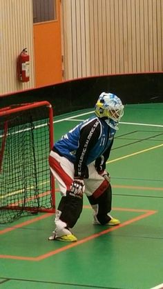 Floorball Goalie