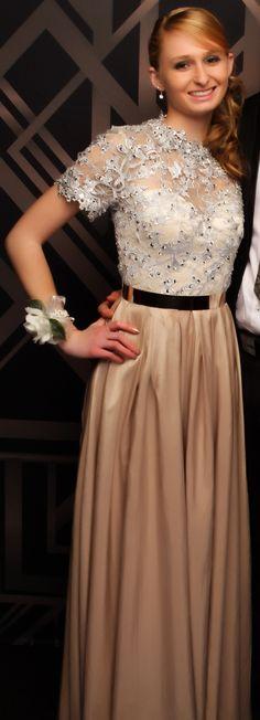 Pukekohe Ball 2015. How stunning is this gown?! www.whitedoor.co.nz
