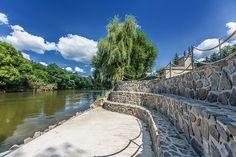 Molo u řeky Sázavy