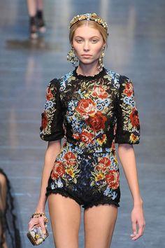 dolce   gabbana Роскошь Мода, Мода От Кутюр, Высокая Мода, Подиумная Мода, 8498db3a859