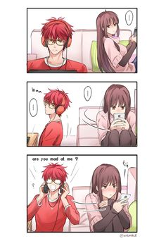 found this on the Mystic messenger memes