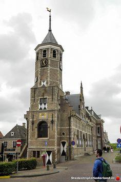 (EN) Town Hall Willemstad  (NL) Stadhuis Willemstad