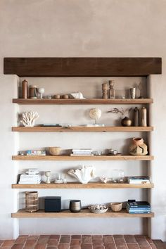 Shelves by fireplace instead of built in. Wood to match island and mud room bench. Casa Loft, Interior Styling, Interior Design, Minimal Home, Laundry Drying, Laundry Closet, Small Laundry, Laundry Rooms, Natural Home Decor