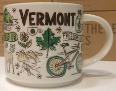 10/% OFF Starbucks Vermont Been There series Coffee mug