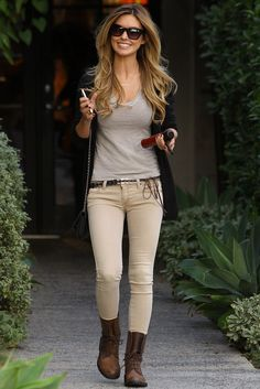 Audrina Patridge Street Style - Leaving Andy Lecompte Salon in Los Angeles