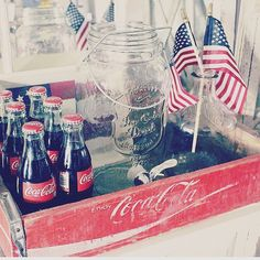 Who's breaking out the #americana decor this week?