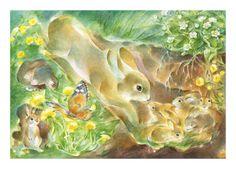 Poster oder Postkarte - Illustration von Marie Laure Viriot