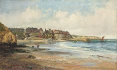 John Falconar Slater - Cullercoats Harbour [Christies}d5107092r.jpg (429×256)
