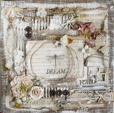 Dream Canvas *Swirlydoos Kit Club* - Prima - Stationers Desk Collection