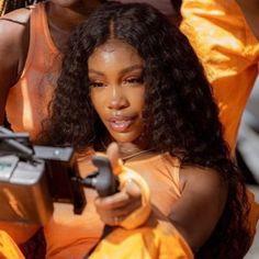 Black Girl Magic, Black Girls, Sza Singer, Pretty People, Beautiful People, Curly Hair Styles, Natural Hair Styles, Beautiful Black Girl, Brown Skin Girls