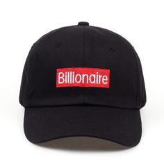 f29d3bf3578 New Billionaire Hip Hop Hat Sport Baseball Cap Snapback Embroidery High  Quality