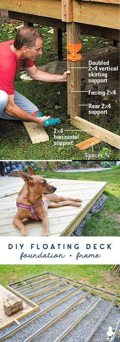 Great Deck Ideas & Designs Cool Deck, Diy Deck, Diy Decoration, Diy Home Decor, Decor Ideas, Project Ideas, Diy Projects, Deck Decorating, Diy Crafts For Gifts