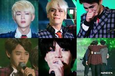 SHINee's reaction to winning Best Artist of the year. You really deserved it. <3