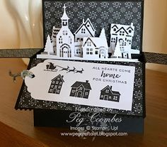 Stampin Up demo UK, Order On line Stampin' Up products catalogue info becoming Stampin Up demonstrator join Stampin' Up! Create Christmas Cards, Christmas Card Crafts, Stampin Up Christmas, Xmas Cards, Christmas Hearts, Christmas Tag, Stampin Up Weihnachten, Pop Up Box Cards, Advent