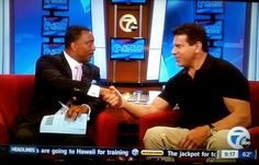 WXYZ's Malcolm Maddox meets The Incredible Hulk, Lou Ferrigno to discuss Motor City Comic Con 2013.