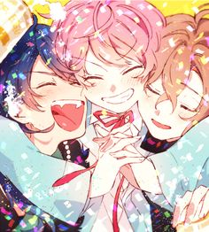 Manga, Anime Friendship, Rap Battle, Anime Couples, Kawaii Anime, Anime Guys, All Star, Anime Art, Animation